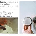 1 LED für quadratischen rechteckigen Badezuber
