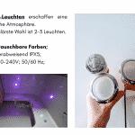 2 LED für quadratischen rechteckigen Badezuber