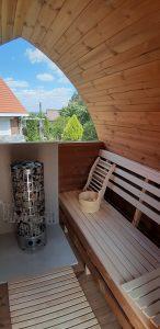 Außensauna für Garten Iglu Design 1