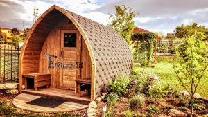 Außensauna für Garten Iglu Design 2 1