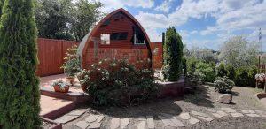 Außensauna für Garten Iglu Design 4