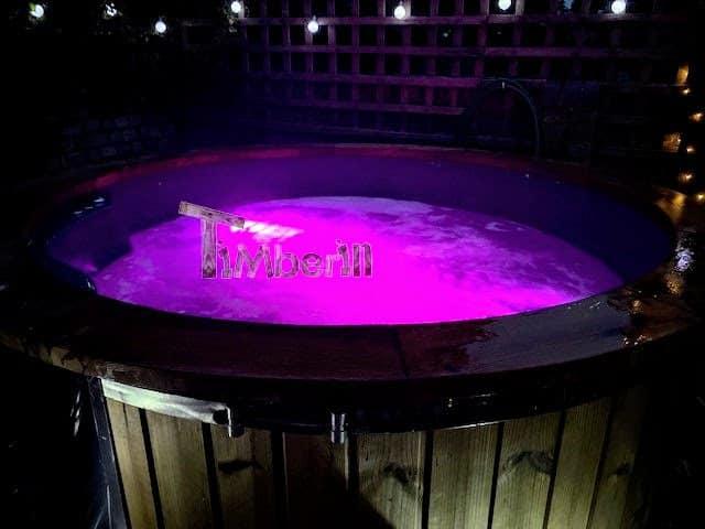 Badefass gfk mit Whirlpool Wellness Royal 2 5