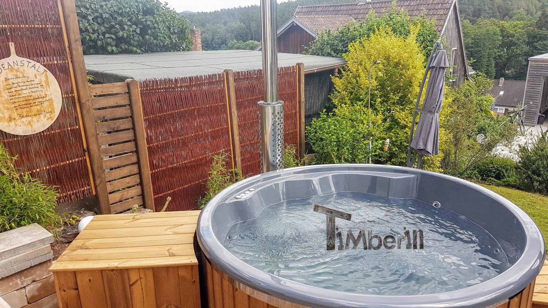 Badefass gfk mit Whirlpool Wellness Royal 2 7 scaled