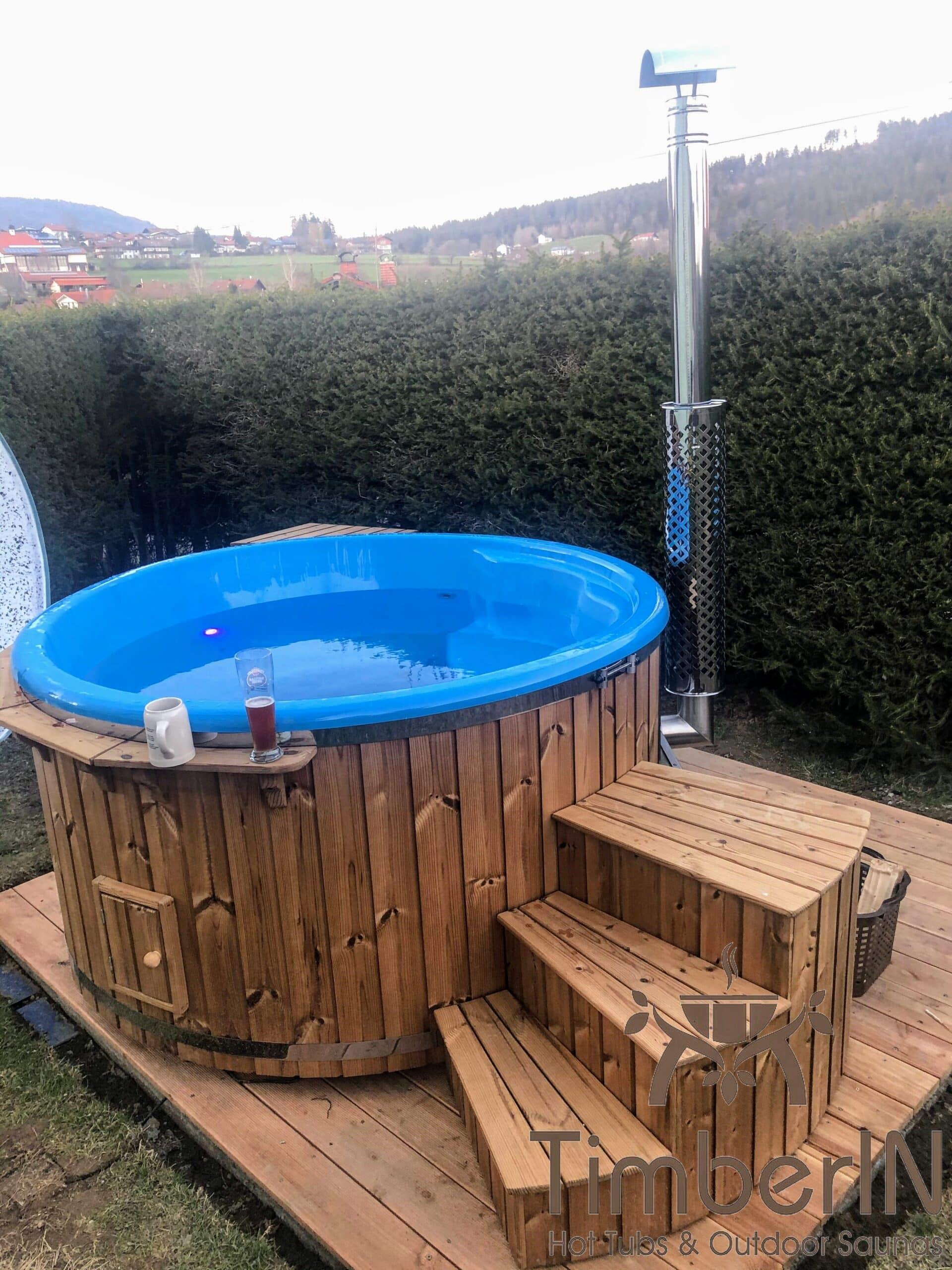 Badetonne Badebottich Hot Tube GFK mit Whirlpoolfunktion 2 4 scaled