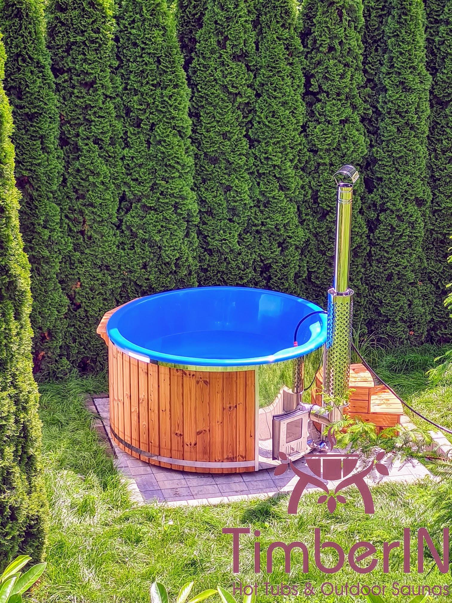 Badetonne Badebottich Hot Tube GFK mit Whirlpoolfunktion 3 8