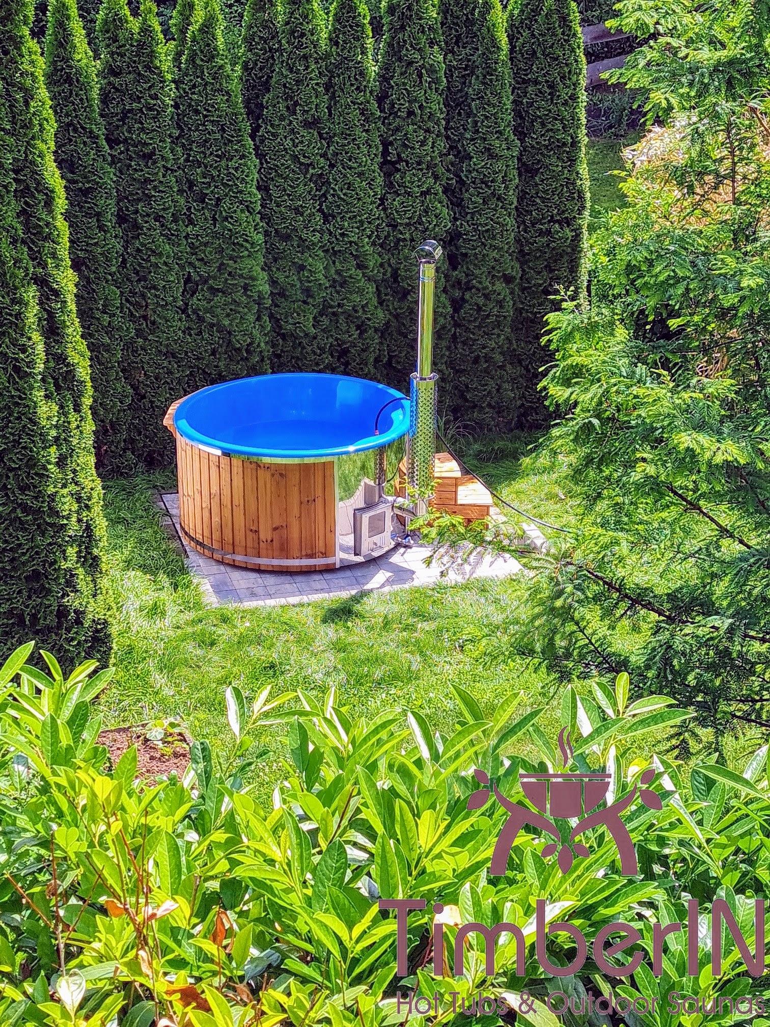 Badetonne Badebottich Hot Tube GFK mit Whirlpoolfunktion 4 7