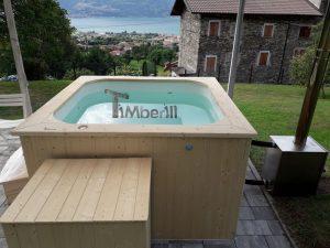 Badetonne eckig Micro Pool mit Kunststoff 1