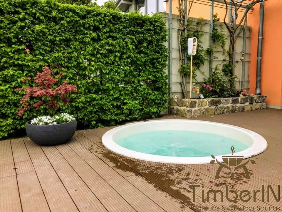 Badezuber Badefass Einbaumodell Einsatz Eingraben Eingelassen 2 2