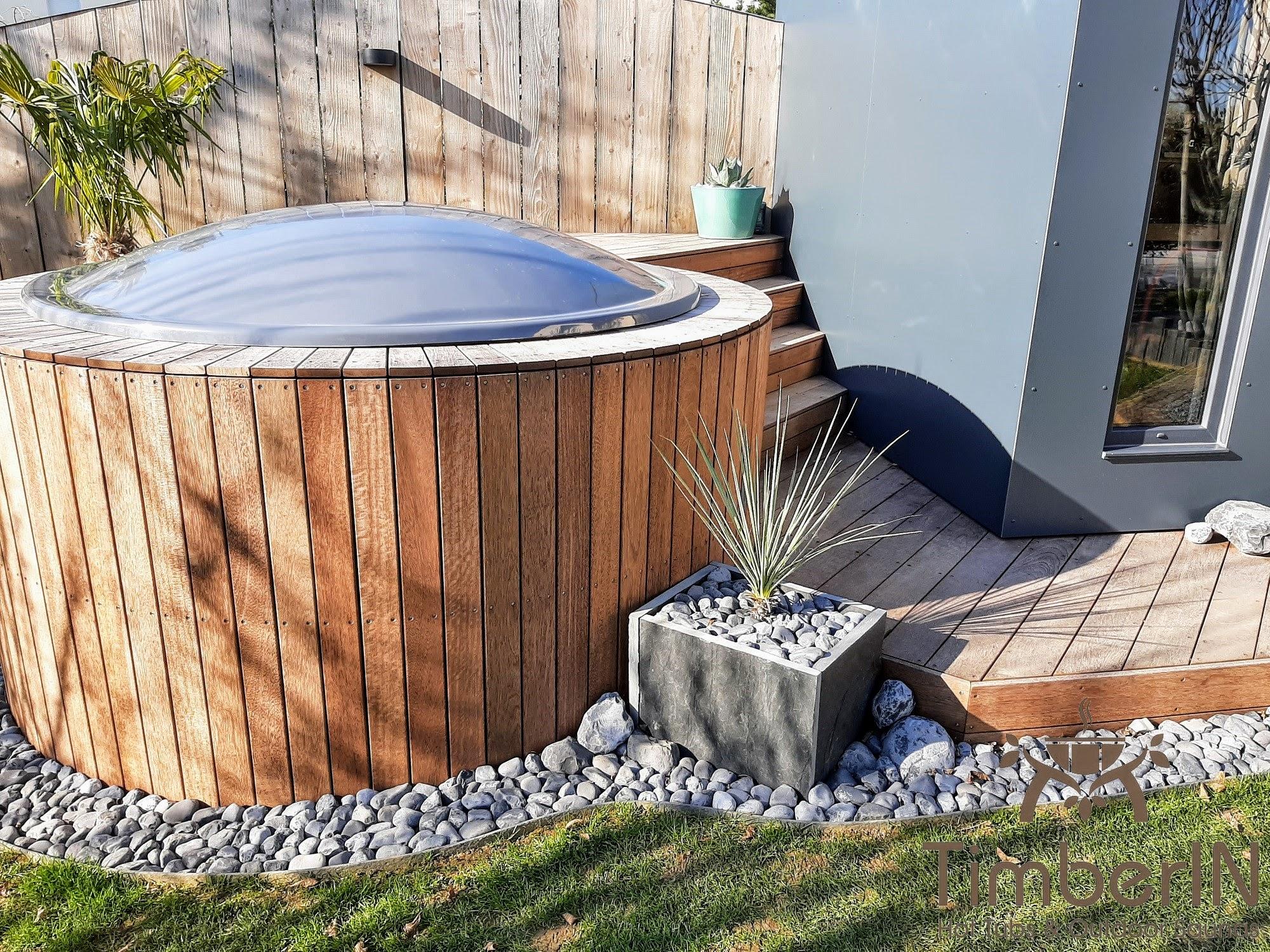 Badezuber Badefass Einbaumodell Einsatz Eingraben Eingelassen 2