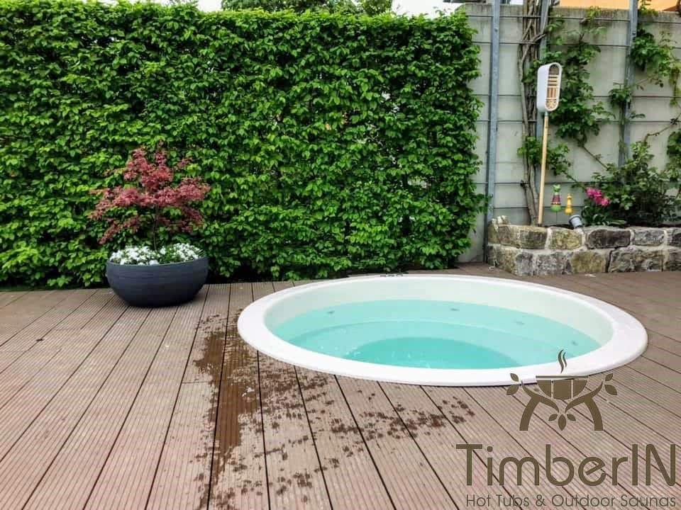 Badezuber Badefass Einbaumodell Einsatz Eingraben Eingelassen 3 2