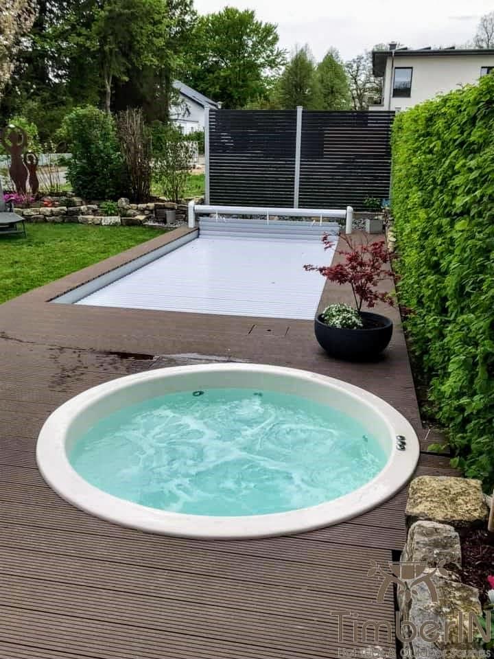 Badezuber Badefass Einbaumodell Einsatz Eingraben Eingelassen 4 2