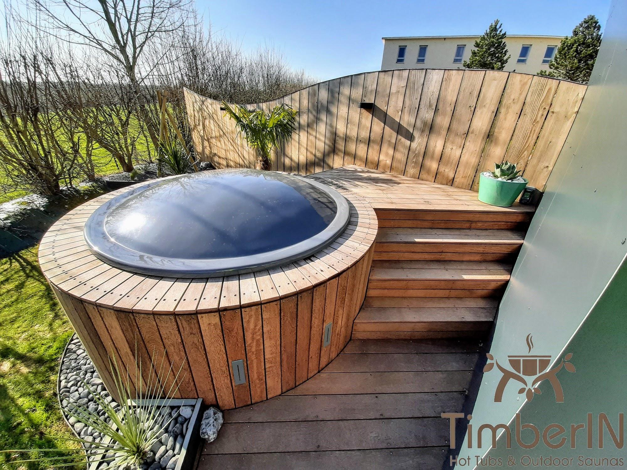 Badezuber Badefass Einbaumodell Einsatz Eingraben Eingelassen 5