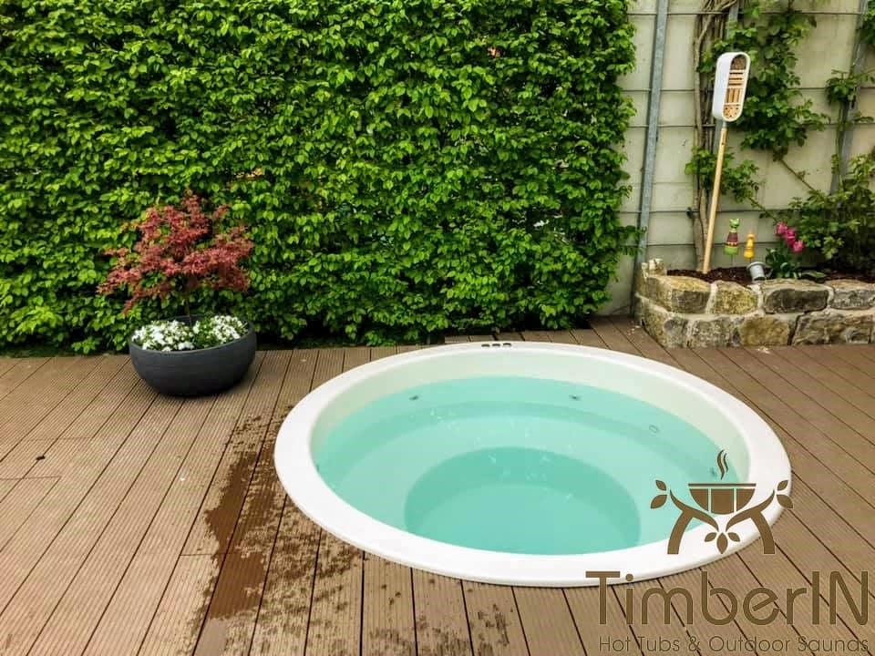 Badezuber Badefass Einbaumodell Einsatz Eingraben Eingelassen 6 2