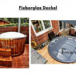 Fieberglas Deckel für Terrasse Whirlpool