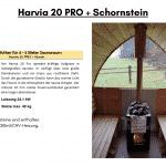 Harvia 20 PRO CE Zeichen 2BImSCHV für die Außensauna