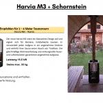 Harvia M3 Schornstein bereits enthalten für die Außensauna