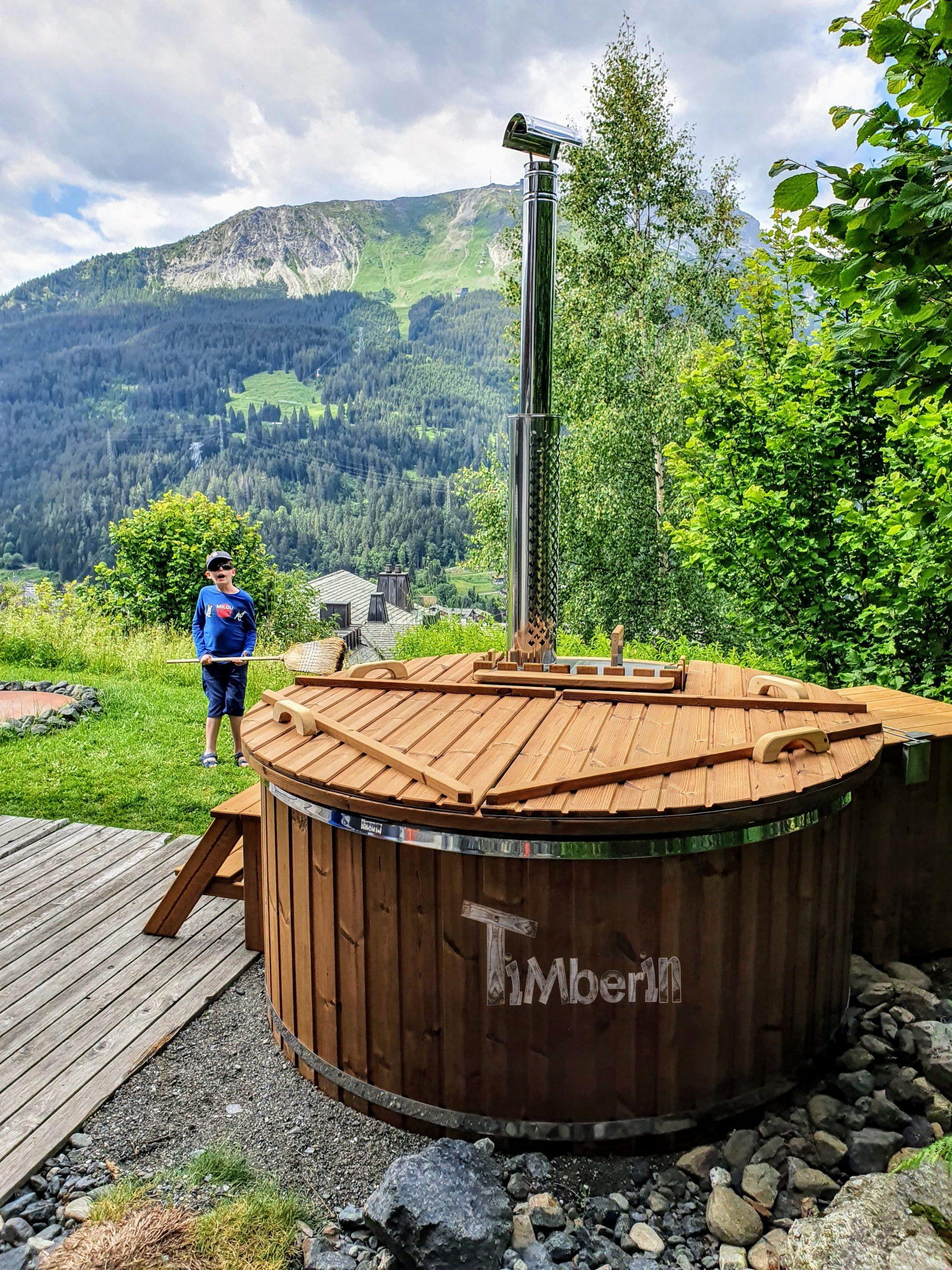 Holz Whirlpool für draußen Holzheizung 1 1 scaled