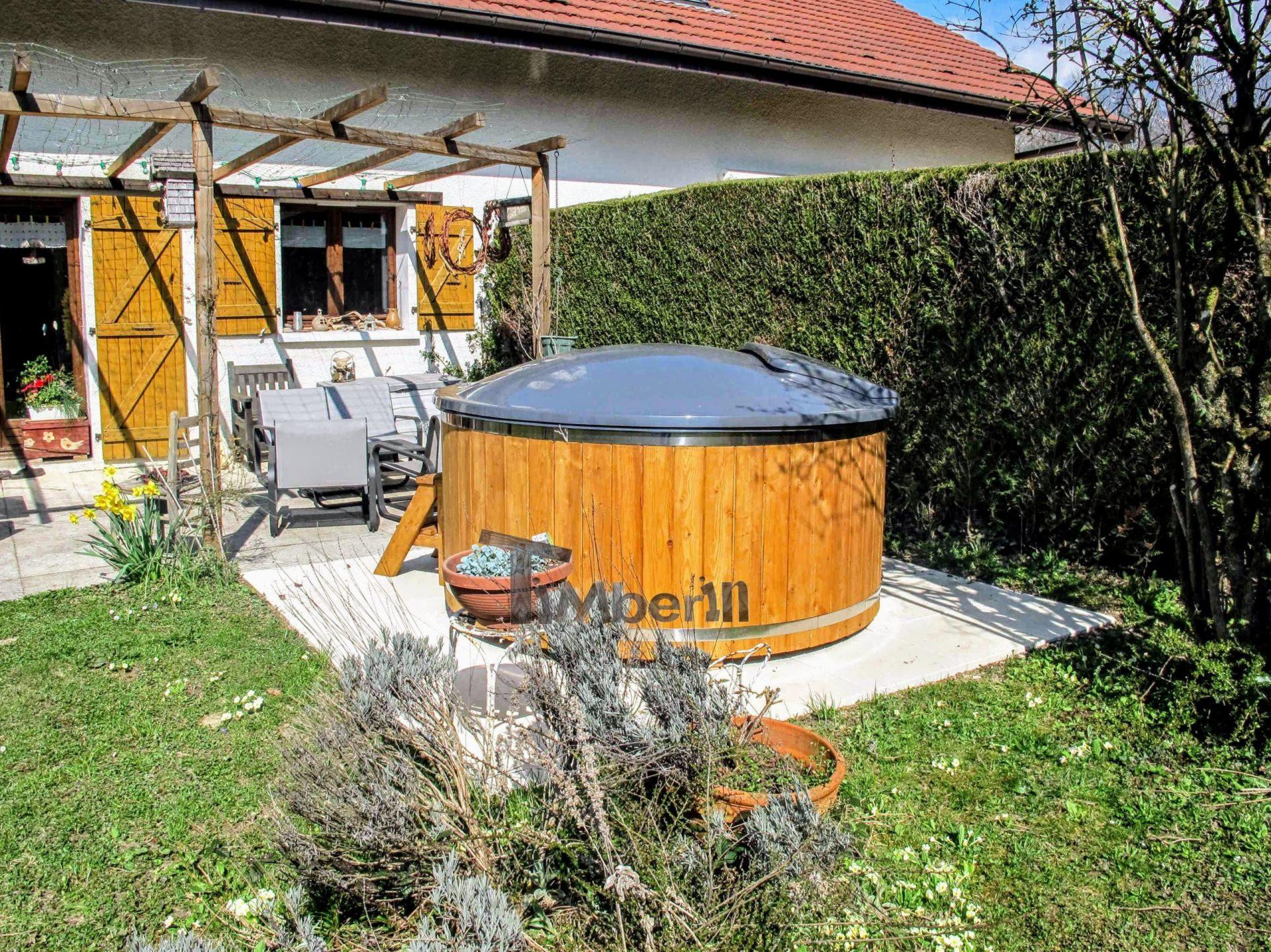 Holz Whirlpool für draußen Holzheizung 2 scaled