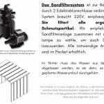 Wasserfiltration für Badetonne aus Holz