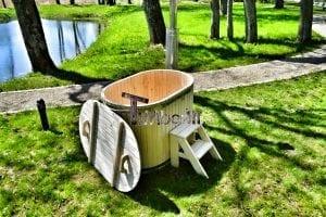 Badewanne Ofuro aus Holz für 2 Personen 11