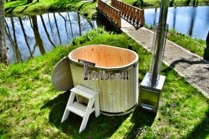 Badewanne Ofuro aus Holz für 2 Personen 12