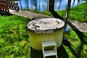 Badewanne Ofuro aus Holz für 2 Personen 13
