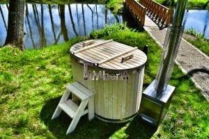 Badewanne Ofuro aus Holz für 2 Personen 14