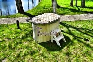 Badewanne Ofuro aus Holz für 2 Personen 15