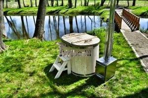 Badewanne Ofuro aus Holz für 2 Personen 17