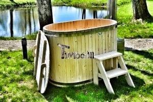 Badewanne Ofuro aus Holz für 2 Personen 2