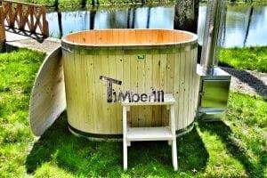 Badewanne Ofuro aus Holz für 2 Personen 4