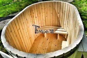 Badewanne Ofuro aus Holz für 2 Personen 5