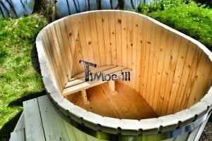 Badewanne Ofuro aus Holz für 2 Personen 6