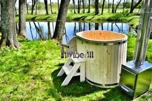 Badewanne Ofuro aus Holz für 2 Personen 7