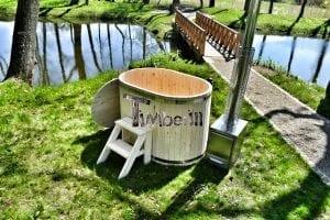 Badewanne Ofuro aus Holz für 2 Personen 8