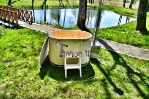 Badewanne Ofuro aus Holz für 2 Personen 9