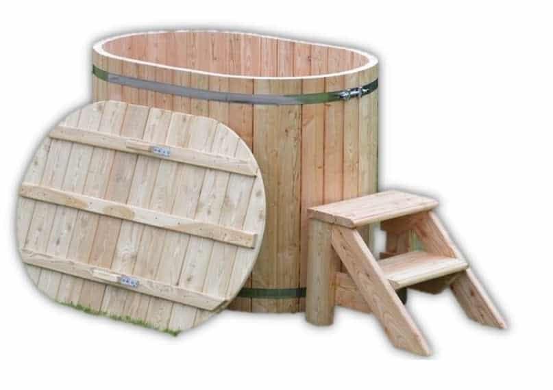 Holzernebadetonne für 2 Personen kaufen