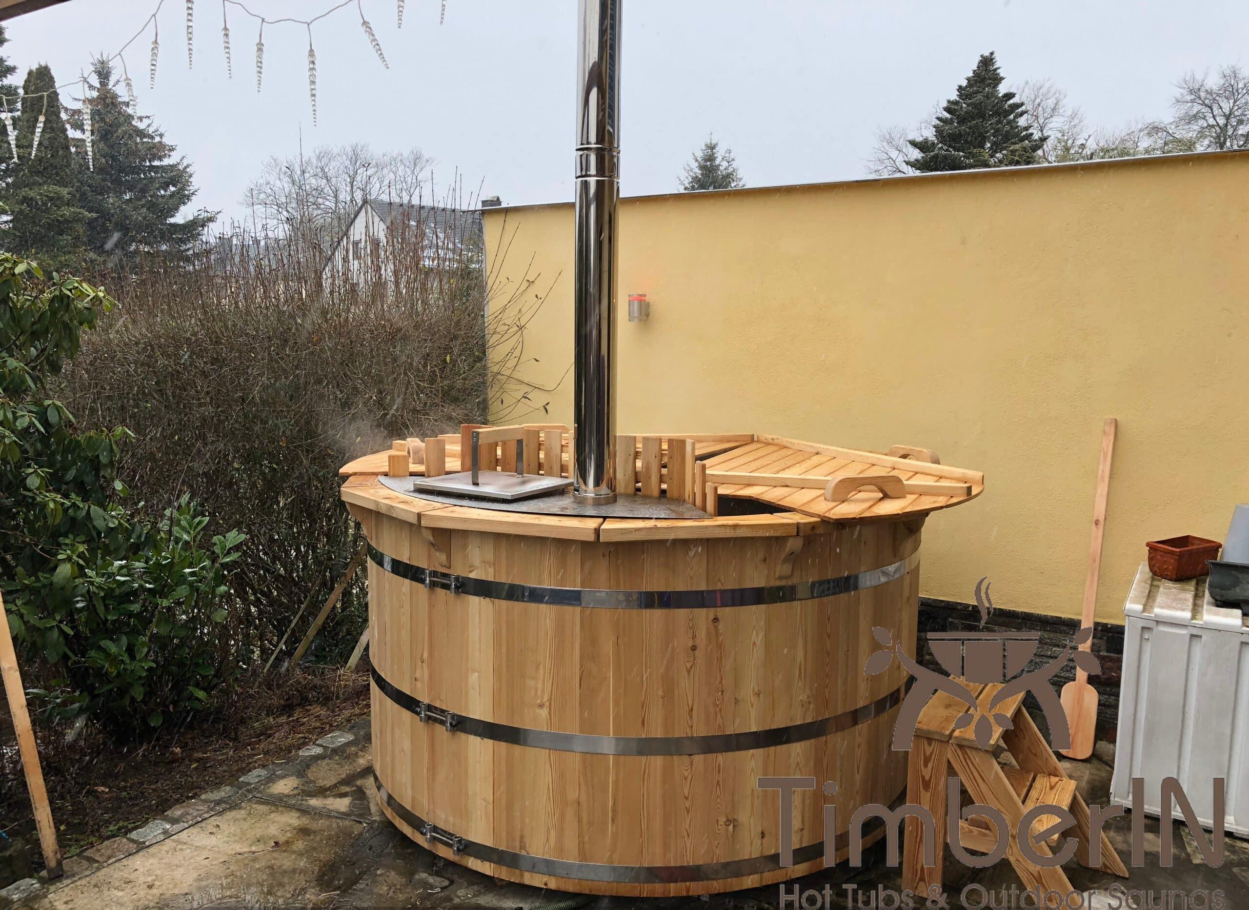 Badezuber Badefass Fichte Bausatz 1 2 scaled