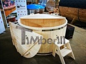 Badezuber aus Holz Basic Modell Sibirische Fichte 12