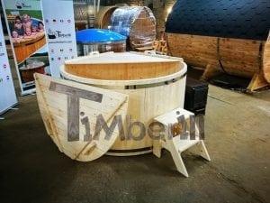 Badezuber aus Holz Basic Modell Sibirische Fichte 13