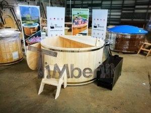 Badezuber aus Holz Basic Modell Sibirische Fichte 14