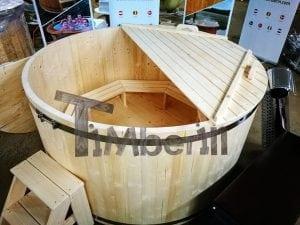Badezuber aus Holz Basic Modell Sibirische Fichte 15