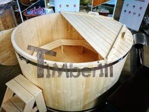 Badezuber aus Holz Basic Modell Sibirische Fichte 16
