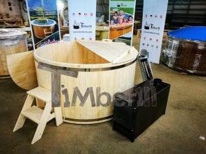 Badezuber aus Holz Basic Modell Sibirische Fichte 17