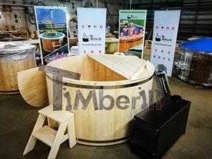 Badezuber aus Holz Basic Modell Sibirische Fichte 2
