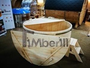 Badezuber aus Holz Basic Modell Sibirische Fichte 5