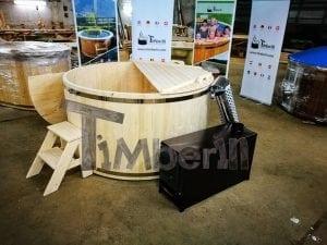 Badezuber aus Holz Basic Modell Sibirische Fichte 7