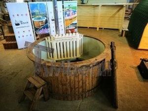 Badezuber mit Kunststoffeinsatz Vintage TimberIN 1