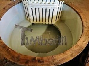 Badezuber mit Kunststoffeinsatz Vintage TimberIN 11
