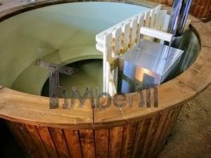 Badezuber mit Kunststoffeinsatz Vintage TimberIN 23
